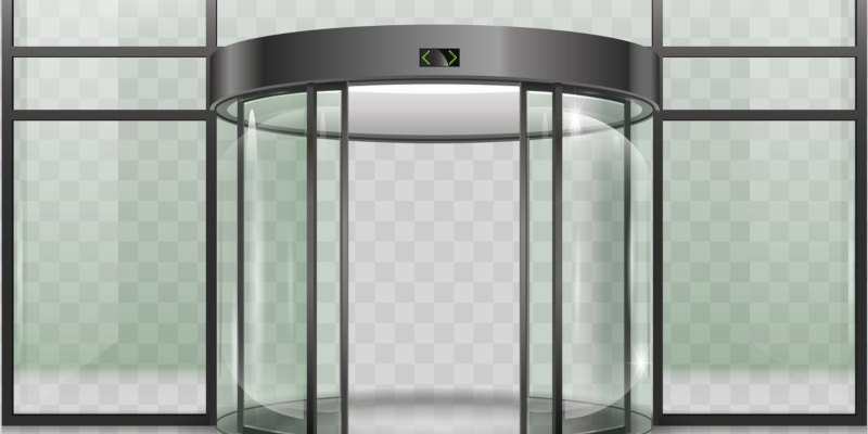 getting automatic doors from a commercial automatic door service company