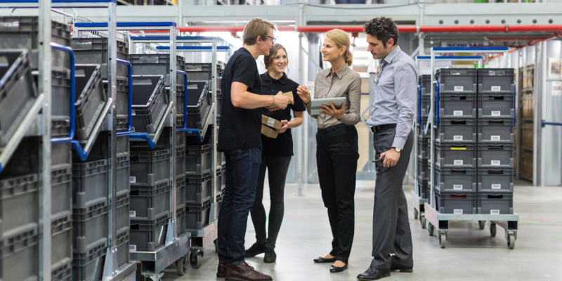 few specific steps in fulfillment services