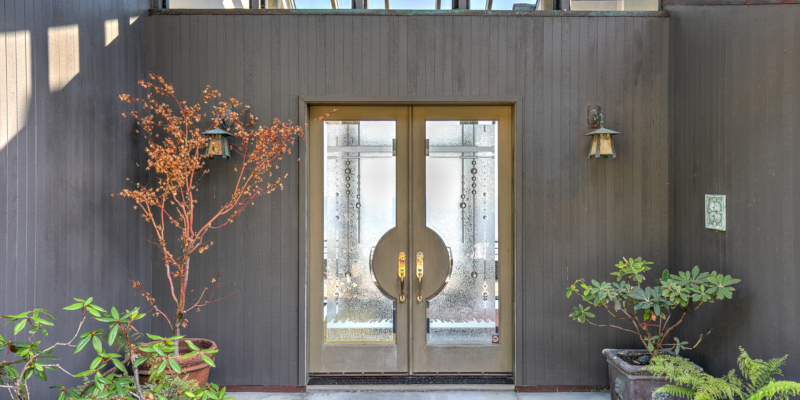 Entry doors with door inserts can help you make the perfect first impression.