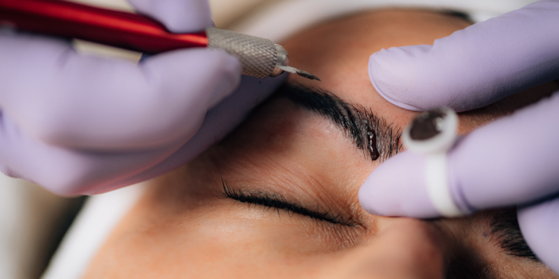 getting semi-permanent makeup may be a good fit for you
