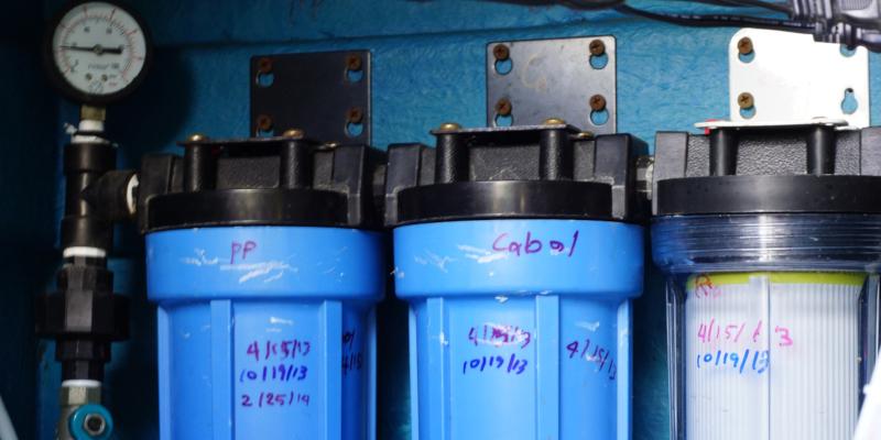 Water Treatment Using Water Deionizer